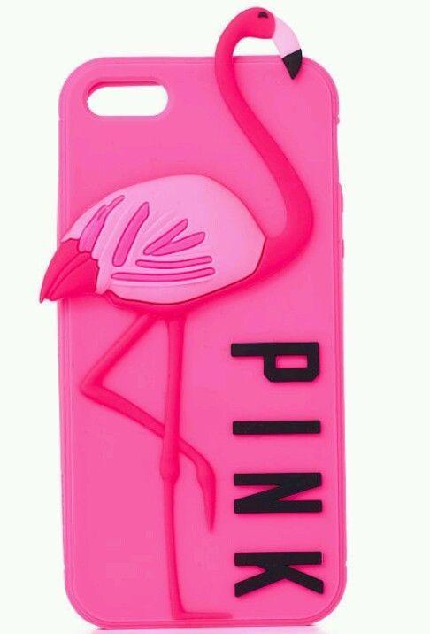 Victoria's Secret PINK Flamingo iPhone 5/5S Case  #VictoriasSecretPINK