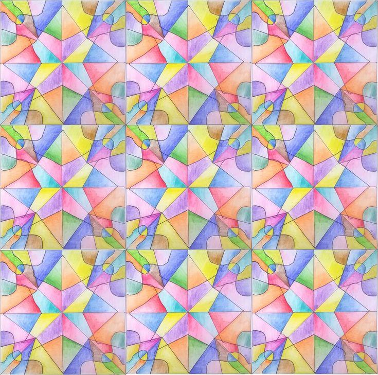 Simmetria radiale: Arte alla scuola media | Paola Rossato