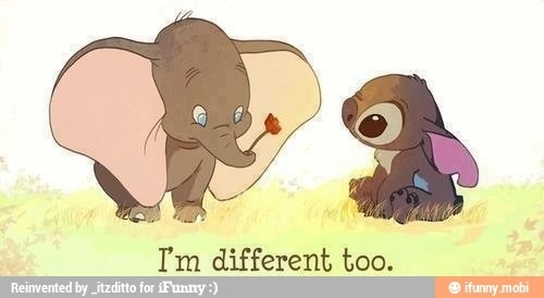 Embrace your differences! You were born an individual, don't die a copy.