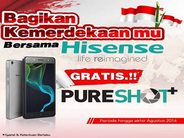 Kuis Bagikan Kemerdekaanmu Berhadiah Smartphone Keren dari Hisense - Hai sobat MisterKuis! Mau mendapatkan smartphone super keren dari Hisense Indonesia?