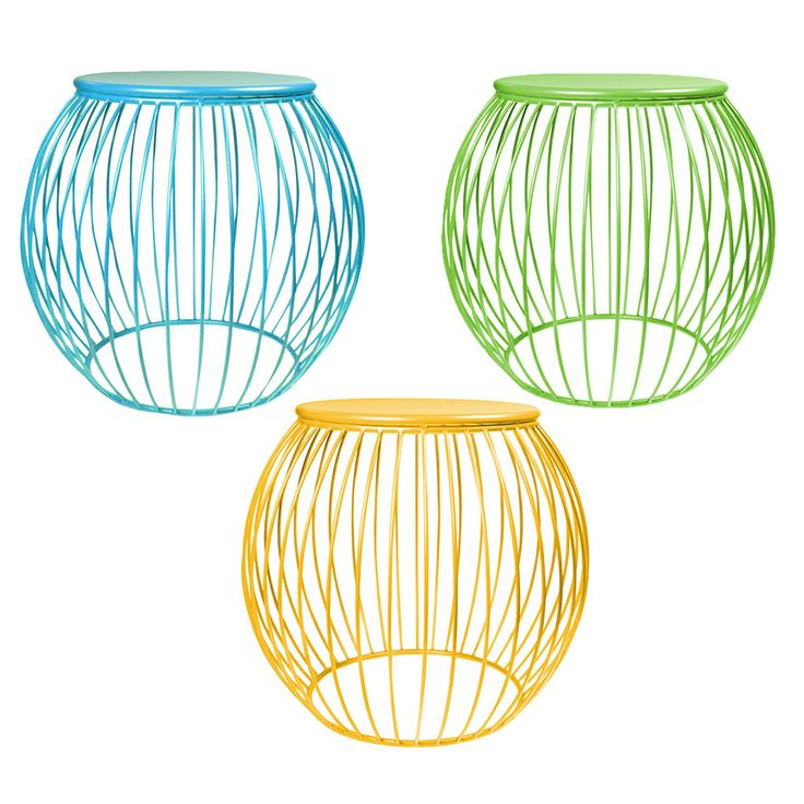 These Brightly Coloured Patio Stools Will Brighten Up Any Back Veranda Mix  And Match The Colours To Create Bold Statement.
