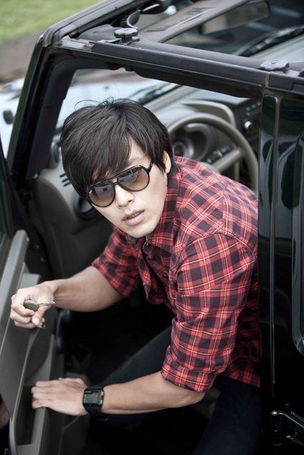 Korean actor/model Hyun Bin