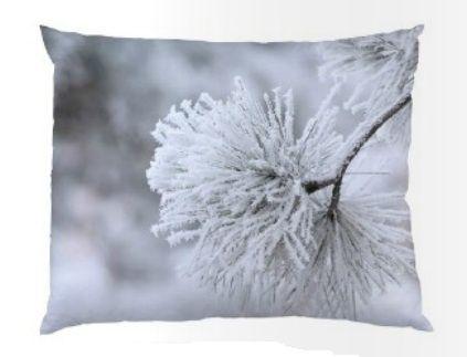 Polštář Snow 50x40 | Nordic Day
