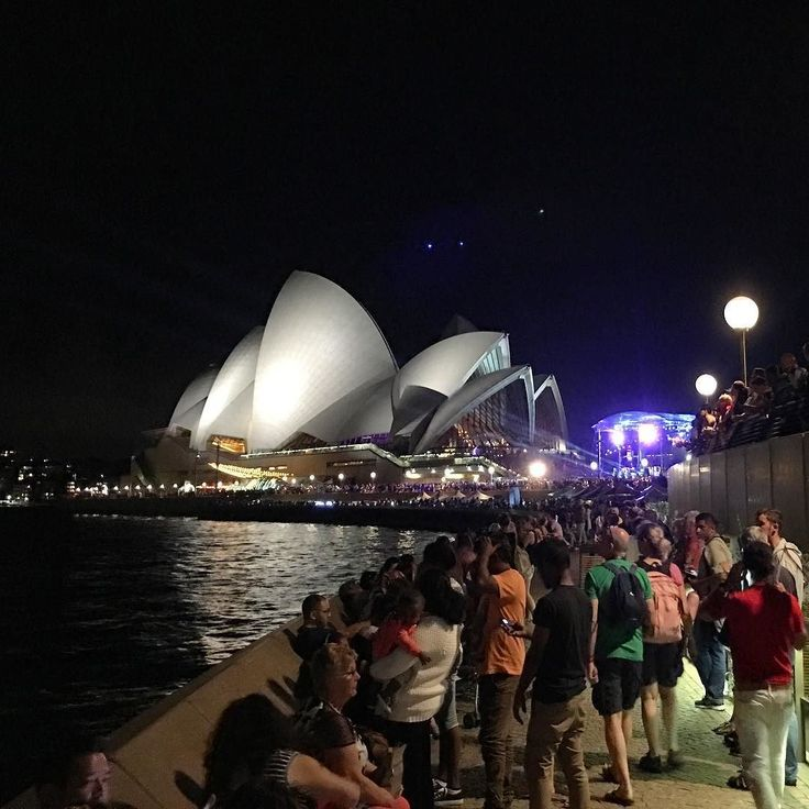Had the best spot to catch the Australia Day Fireworks at the Sydney Opera House! It wasn't as crowded as NYE! What a surprise!  #AustraliaDay #Fireworks #sydney #SydneyOperaHouse #sydneylife #sydneysider #sydneylife #cityofSydney #australia #aussie #au #igau #igsydney #igaustralia #australian #straya #sydneyharbourbridge #aussieaussieaussie #firework #lonelyplanet #igers #wanderlust #worldplaces #igdaily #sydneyharbour #beautifuldestinations #travel #travelgram #australiaday2016 #Strayaday…