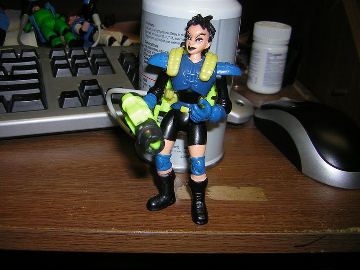 Extreme Ghostbusters action figure