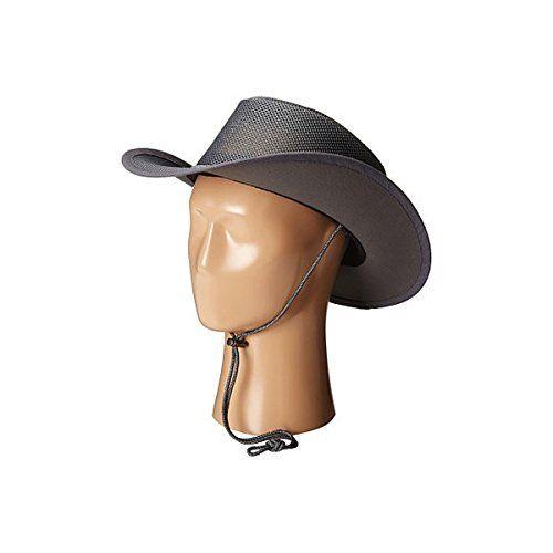 (ステットソン) Stetson メンズ 帽子 ハット Mesh Covered Safari with Chin Cord 並行輸入品  新品【取り寄せ商品のため、お届けまでに2週間前後かかります。】 カラー:Charcoal カラー:ブラウン