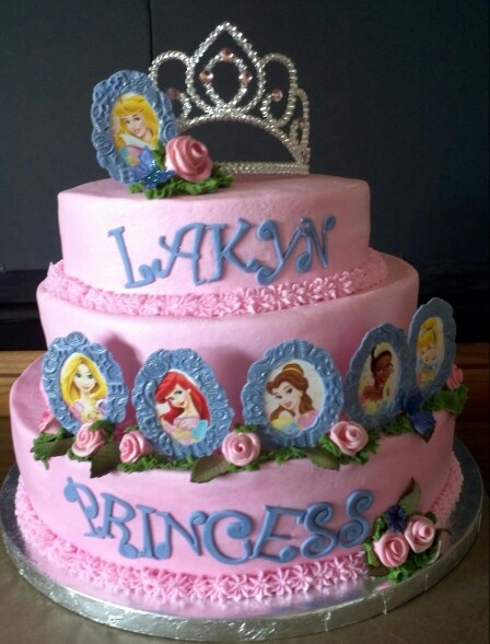 Fondant cake Disney Princess Cake Designs by Tya ...