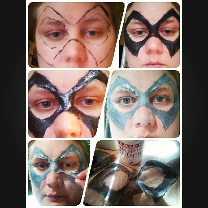 liquid latex mask :)