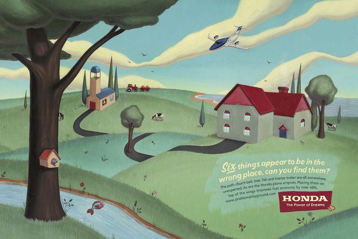 La empresa automovilística Honda para promocionar sus coches híbridos, junto con su agencia Wieden + Kennedy lanzó las campaña publicitacia 'Problem Playground' (Zona de juegos con problemas) en l...