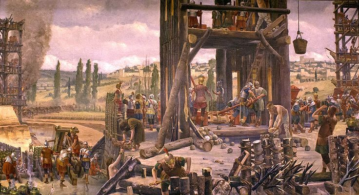 16.The Siege of Alesia (September, 52 BCE)