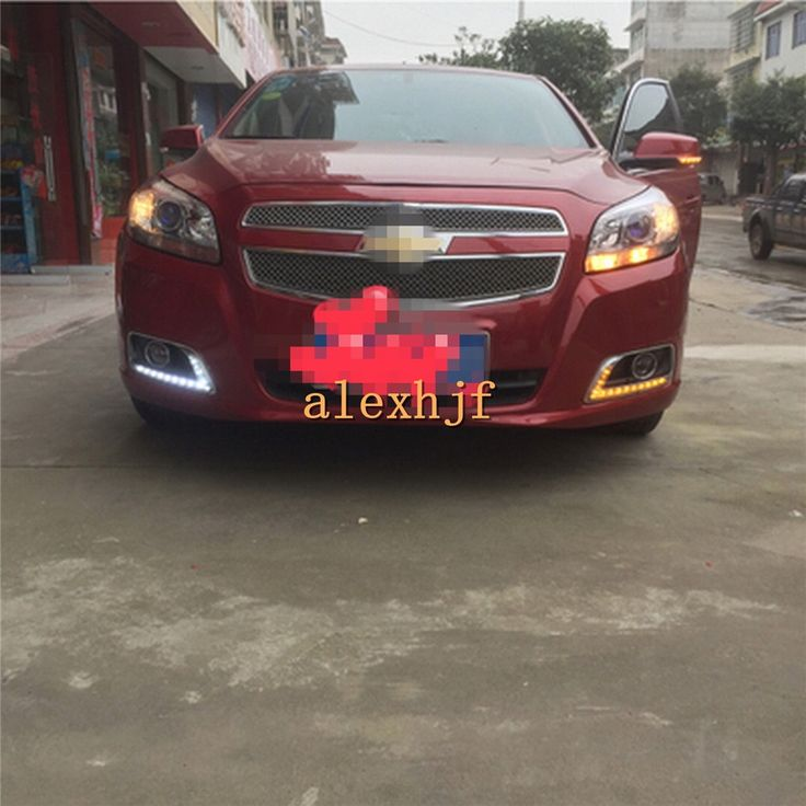 119.99$  Watch now - http://alilnj.worldwells.pw/go.php?t=1290904773 - July King LED Daytime Running Lights Case for Chevrolet Malibu 2011~15, LED DRL With Yellow Turn Signal Light, L-B type 119.99$