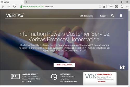 Backup Exec 16 mit erweitertem Support für Cloud und Virtualisierung: Veritas bringt mehr Datenkapazität