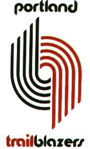 old school trailblazers logo.