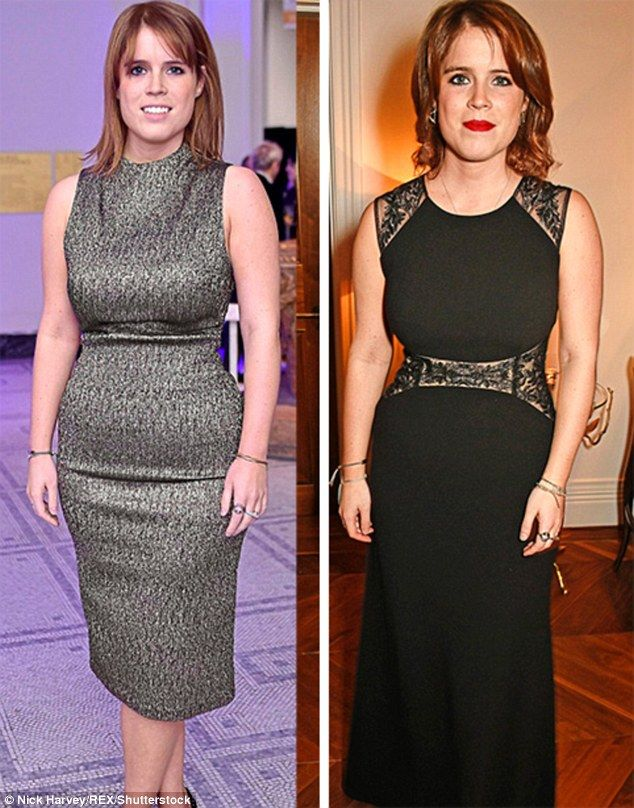 She has spent the past few months denying that she has become secretly engaged, yet I cannot help noting that Princess Eugenie is looking particularly slim these days
