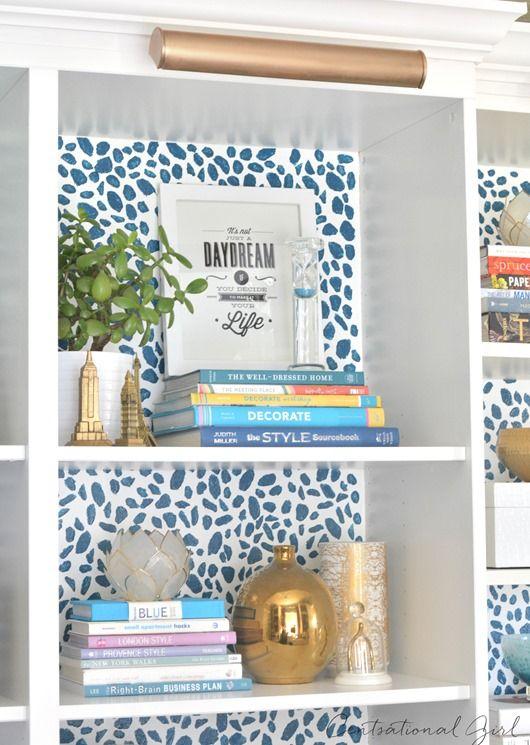 Colorful Bookshelf Spots