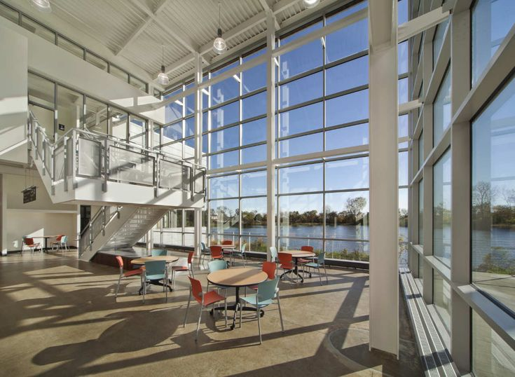 Waubonsee Community College Plano Classroom Building,© Jim Steinkamp Photography