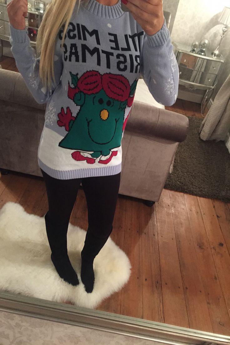 Wantthattrend - Little Miss Christmas jumper, E23.27 (http://wantthattrend.com/little-miss-christmas-jumper/)