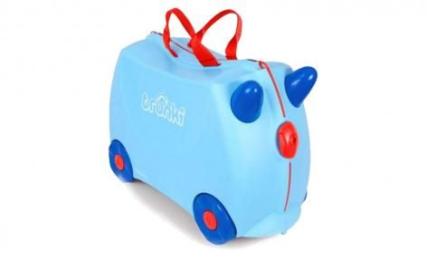 Blue George Ride On Suitcase by Trunki