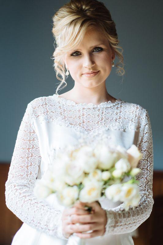 Vintage wedding, vintage dress, Tasmania, vintage Bride