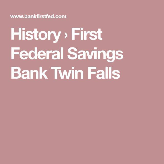 History › First Federal Savings Bank Twin Falls