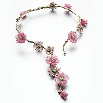 De Japanse sieraden markt