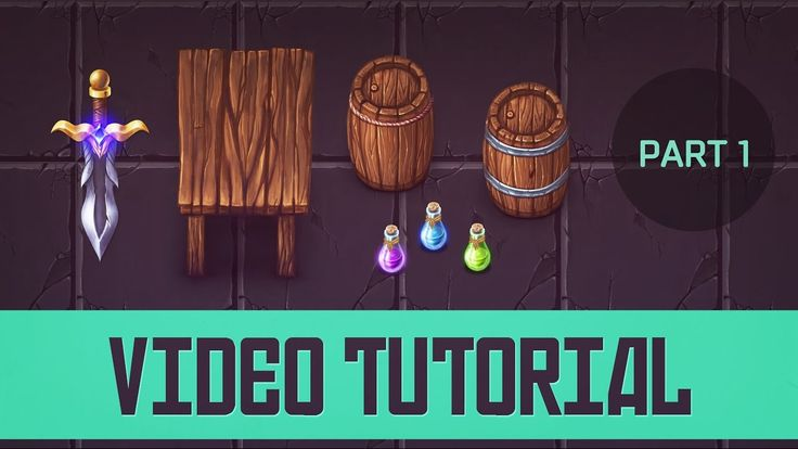 [Tutorial] Painting Top-Down 2d game assets for a cartoon game. [Part 1/3]