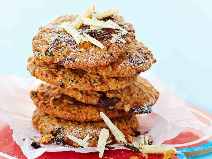 Suklaa-kauracookiet