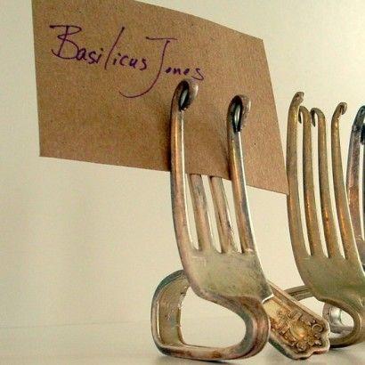 forchette segnaposto/segnapiante