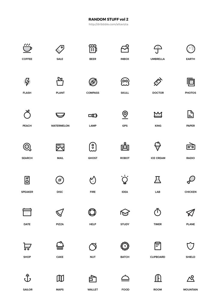 Random Stuff Iconset Vol 2