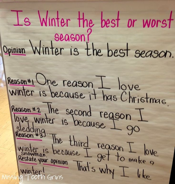 In My Opinion {Let the Opinion Writing Begin!}