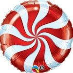 "9"" Candy Swirl- RED"