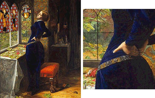 Mariana, 1851, John Everett Millais