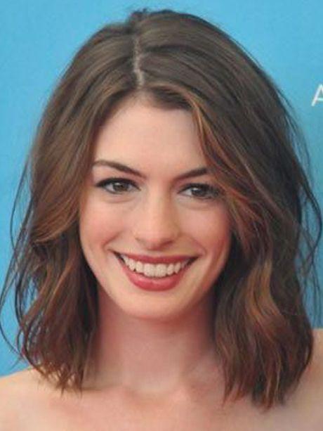 Le wob délicat d'Anne Hathaway - Le Wob : la nouvelle coiffure tendance - Photos Beauté - Be.com