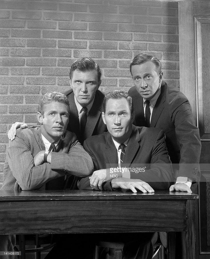 Sixties | Ron Harper, Robert Lansing, Gregory Walcott and Norman Fell, stars of 87th Precinct, 1961-62
