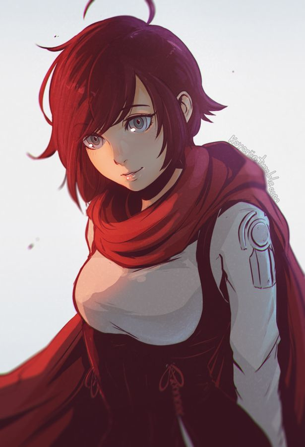 252 best ruby rose images on pinterest ruby rose anime - Rwby ruby rose fanart ...