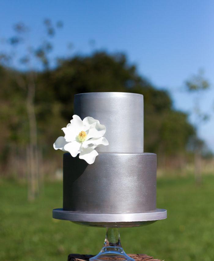 Best Metallic Wedding Cakes Ideas On Pinterest Metallic Cake