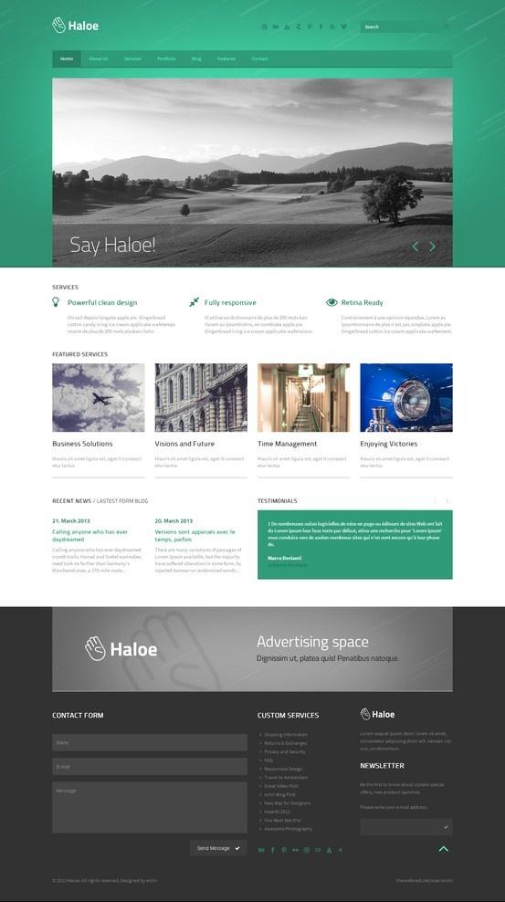 100 best HTML Website Templates images on Pinterest | Design ...