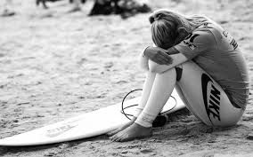 It was a bad day at the surf, while failing most times