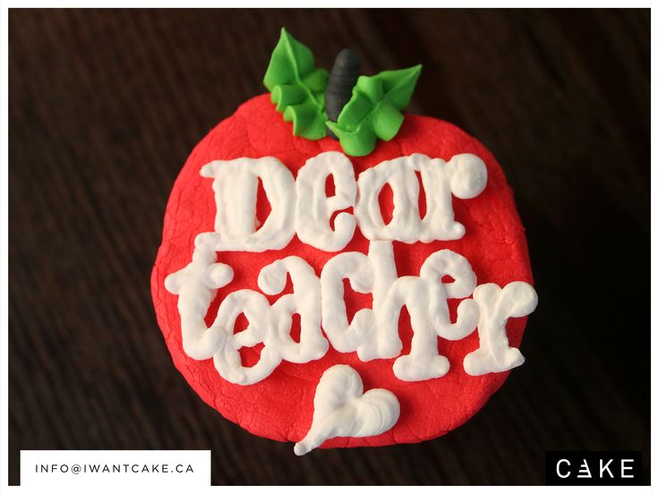 Time for back to school.  We customize cupcakes for most occasions.