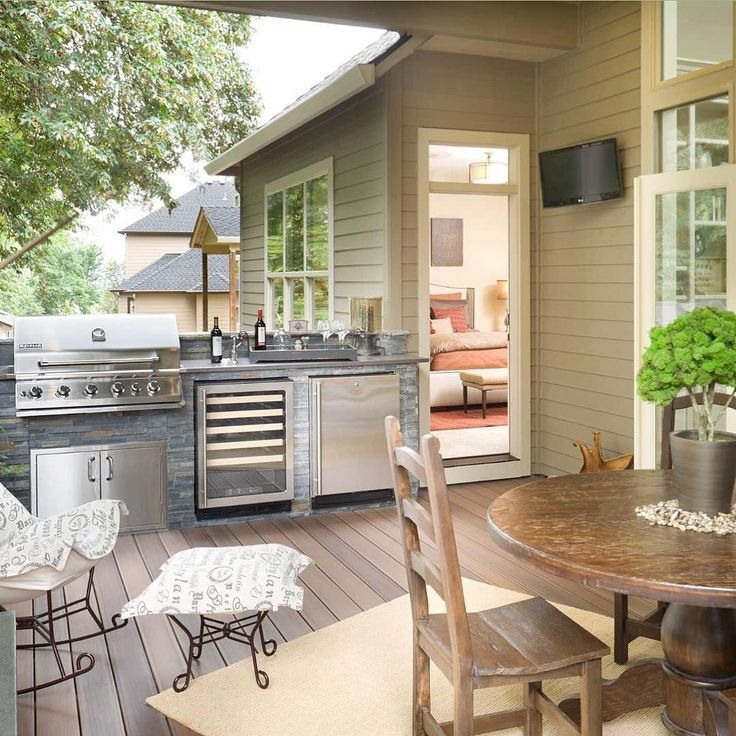 25 Best Outdoor Kitchen Ideas Design For Small Space On A Budget