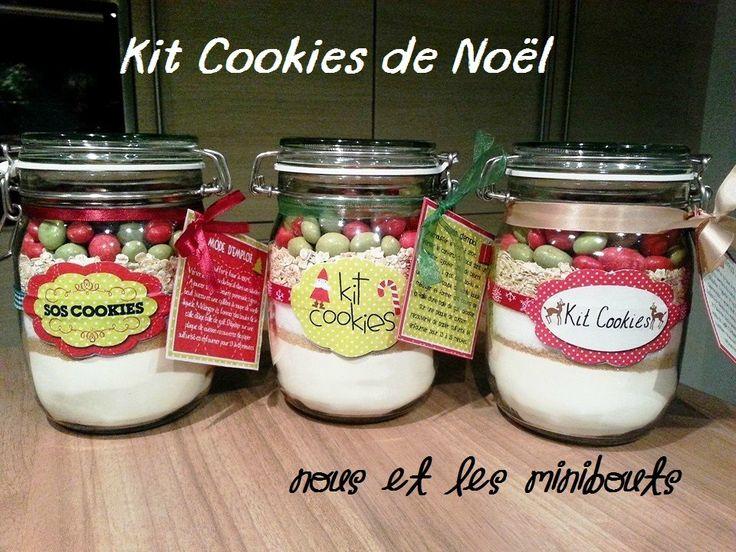 Kit Cookies de Noël minibouts