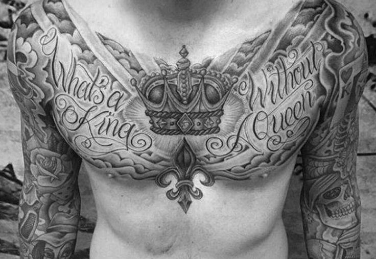 Découvrez nos 10 inspirations de tatouage de couronne, motif très tendance dernièrement....