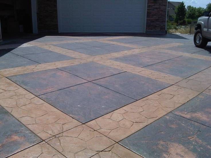 1000 images about driveways on pinterest stains for Remove stains from concrete driveway