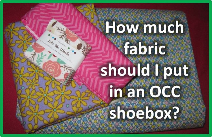 Simply Shoe Boxes: Enhancing Sewing Kits for OCC Shoe Boxes