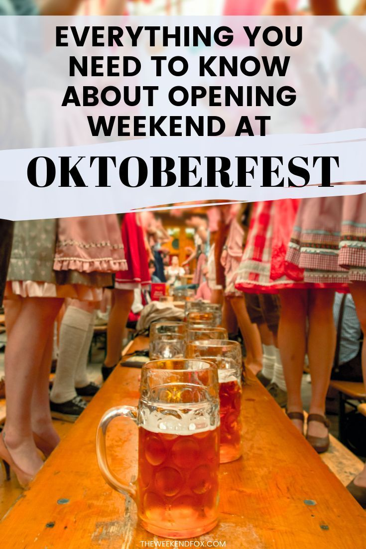 What's Oktoberfest Really Like During the Opening Weekend? • TWF