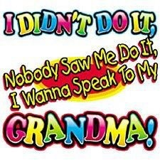 I wanna speak to my grandma- cute for kids shirt