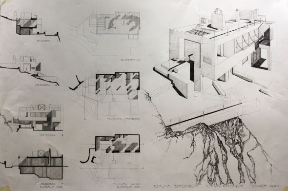 44 best dibujo images on pinterest architects for Dibujo arquitectonico