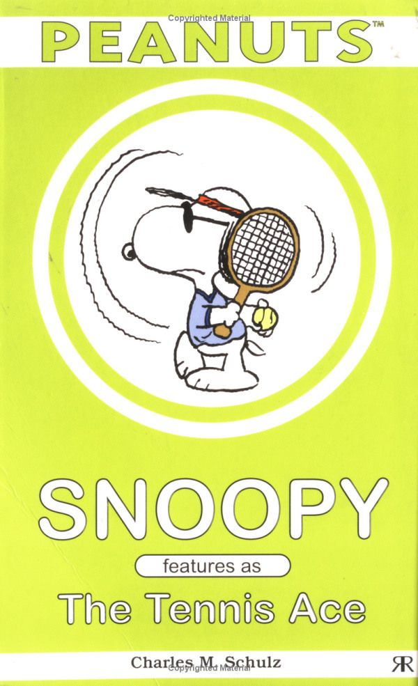 Snoopy Features as the Tennis Ace