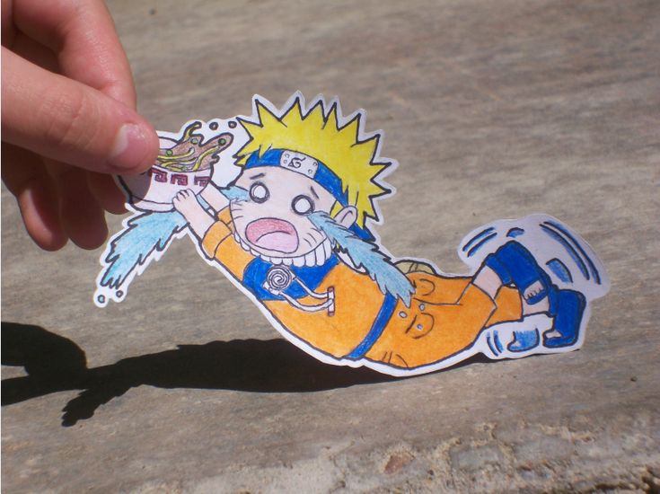 Paper Child Naruto by Angelic-Owl on DeviantArt
