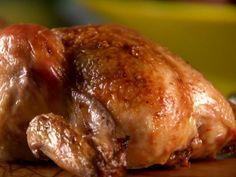Sunny Anderson garlicky Cornish hens